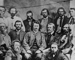 An online learning tool highlights the contribution of Louis Riel, the Métis people and the Legislative Assembly of Assiniboia