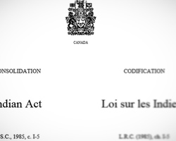 April 1985 saw some very important changes to very discriminatory measures of the Indian Act