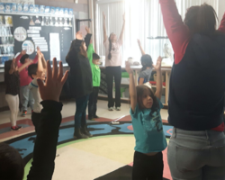 A workshop at the N'Amerind Friendship Centre in London, Ontario got participants to move, breathe, dance and take steps towards healing
