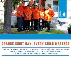 Orange Shirt Day acknowledges the harm that Canada's residential school system has left in generations of indigenous families and their communities.
