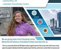 Get to know an Indigenous Youth Campion from the Labrador Friendship Centre.