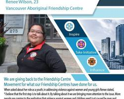 Get to know an Indigenous Youth Champion from the Vancouver Aboriginal Friendship Centre